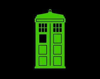Dr. Who Decal, Doctor Who Decal, Tardis Decal, Police Box Decal, Tardis Police Box Decal, BBC Sticker, Tardis Sticker