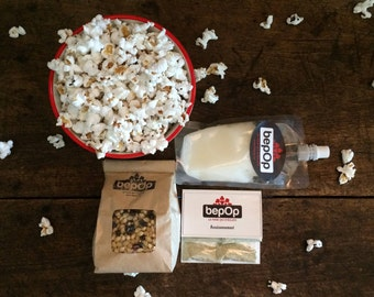 You're the boss! ingredients to make popcorn