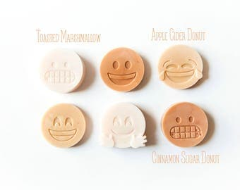 Bakery Sampler | Emoji Wax Melts (4.8 Oz.) - Donut Wax Melts - Toasted Marshmallow - Hand Poured Wax - Handmade Wax Melts - Emojis - Emoji