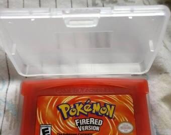 Pokemon Fire Red Version Gameboy Advance Cartridge [Retro] [2004] GBA
