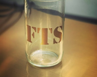 Custom Upcycled Tasting Glass!