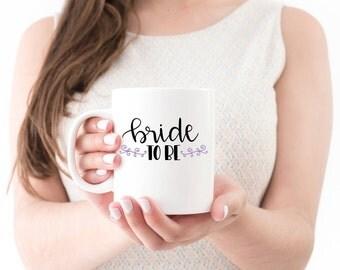Wedding Mug / Bride Gift Mug / Personalized Mug / Wedding Mugs / Custom Mug / Bride to Be Mug / Personalized Mug / WEM-13