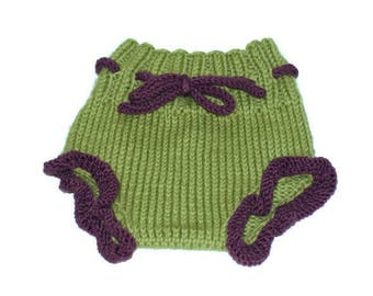 Wool Soaker Newborn Nappy Cover
