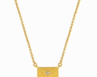 Purse Necklace Gold