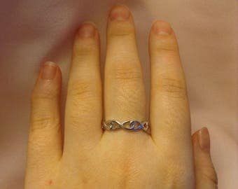 Infinity Band Ring ~ Infinity Ring