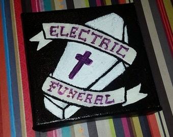 Electric Funeral Mini Canvas