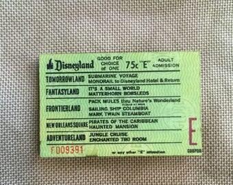 E Ticket Wooden Needle Minder