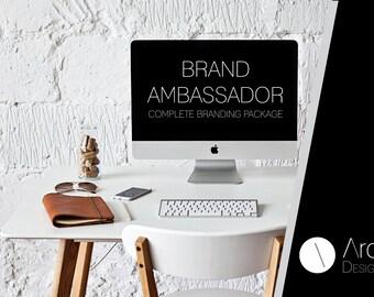 BRAND AMBASSADOR - Branding Package - Complete Branding Package