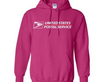 USPS Helicona Hooded Postal Sweatshirt. All Sizes Available!