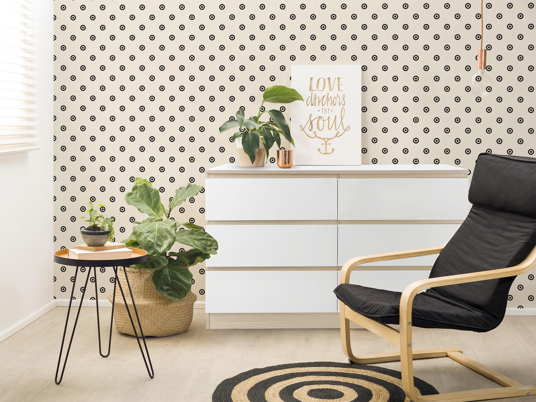 removable wallpaper scandinavian wallpaper temporary wallpaper minimalistic wallpaper peel. Black Bedroom Furniture Sets. Home Design Ideas