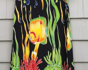 Vintage Women's Underwater Dress M/L