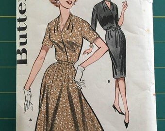 Vintage Sewing Pattern Butterick 1960's