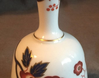 Fine Bone China Bell by Crown Staffordshire England
