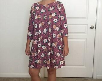 Briana Floral Dress