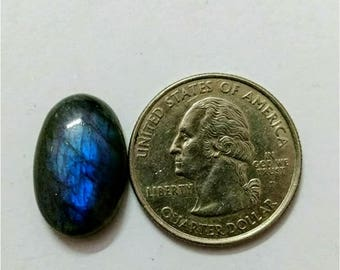 19.82 x 12.90 mm,Ovel Shape/Labradorite Cobochon/Blue  Flash/wire wrap stone/Super Shiny/Pendant Cabochon/Semi Precious Gem/labradorite cabs
