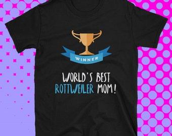 Rottweiler T Shirt, Rottweiler Collectibles, Rottweiler Shirt, Rottweiler Mom, Rottweiler Tshirt, Rottweiler Tee, Rottweiler Lover Gift