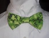 Minecraft Pre-tied Adjustable Bow Tie