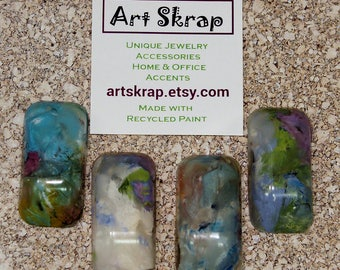 Home Decor, Office Decor, Co Worker, Classroom, Kids Room, Dorm Room, Teens, Gift, Colorful, Thumbtacks, Recycled Paint, Teacher, Artskrap,