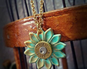 Dazey 2.0 Flower Bullet Jewelry Bullet Necklace 38 Special