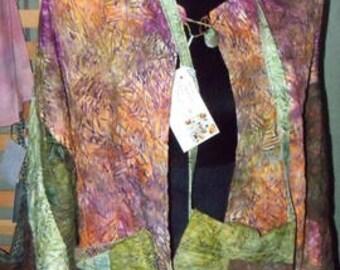 Casual Batik Jacket