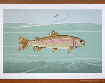 Rainbow Trout (13 x 19)