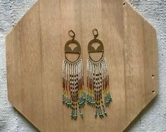 Keysha Fringe  Earrings