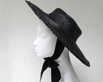 The Gabrielle Hat - Wide Brim Parasol - Sun Hat