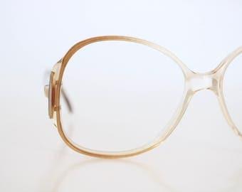 vintage french butterscotch frames