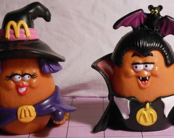 Halloween McNugget Buddies, 1992 McDonald's Happy Meal toys, Set of 2