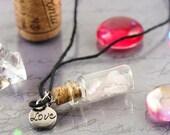 Potion bottle necklace - ...