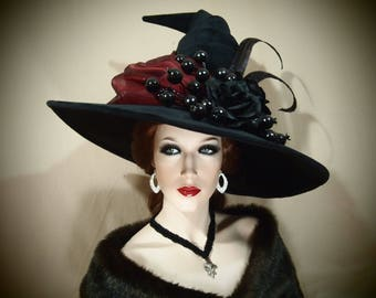 """Witch Hat """"Red Ritual"""""""