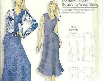 Butterick B0457 Connie Crawford Shift Dress & Blouse Pattern Size XS-XL B34-43