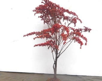 Graceful Fall Tree 13 inches tall