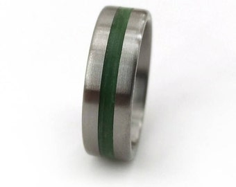Green Grass Ring, Nature Ring, Inspirational Jewelry, Natural Ring, Engagement Ring, Wedding Ring, Natural Wedding Ring, Nature Resin Ring