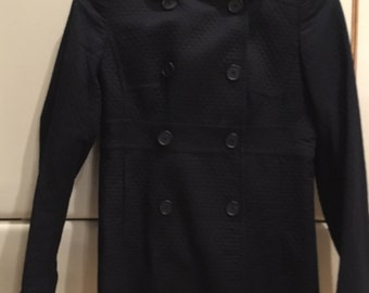 J. Crew Navy Blue Double Breasted Jacket