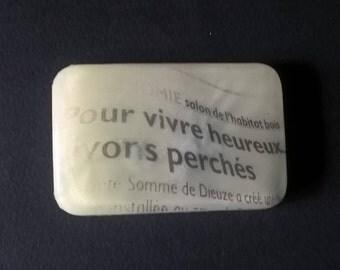 "Soap ""Vivons Heureux,Vivons Perchés"" Candyfloss - Sweet Candy fragrance"
