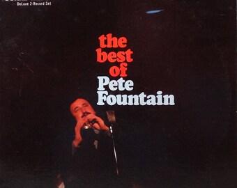 Pete Fountain – The Best Of Pete Fountain 1970 ( 2 x LP, Album, Vinyl Record ) Dixeland, Jazz, clarinet  - Music