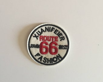 Route 66 fashion Iron on patch
