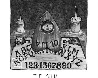 The Ouija - Inktober - Print - Halloween