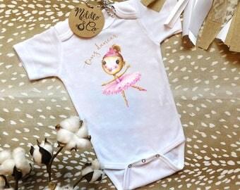 Tiny Dancer, Ballerina Onesie, Cute Baby Onesie, Girly Onesie, Baby Girl Onesie, Baby Shower Gift, Baby Girl Gift, Shower Gift, Cute Onesie