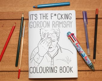 Gordon Ramsay Colouring Book