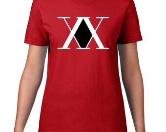 Hunter X Hunter, Hunter association logo women's tshirt