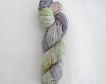 4ply Hand Dyed Yarn Baby Alpaca Merino - Lavender Field - 100g - 400m - 50% Baby Alpaca/Merino