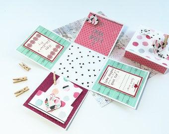 Exploding Box - Explosion Box - Valentines Day - Love Box - Heartbeat - Valentines Day Box - Pop Up Box