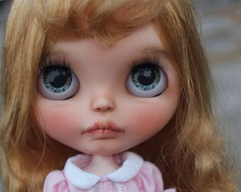 Miranda - OOAK Custom Art Blythe Doll by Rainfable Dolls (2017)