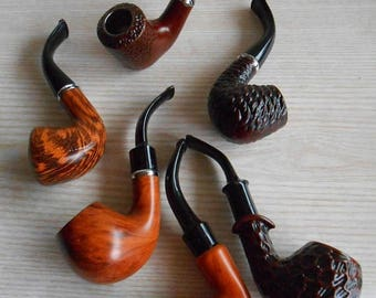 ON SALE Vintage Pipe , New Old Stock (NOS) Smoking Pipe , Old Pipe , Tobacco Pipe ,Vintage Tobacco Smoking Pipe , Gift for Men
