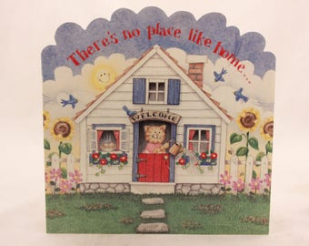 "NEW! ""There's No Place Like Home"" Greeting Card by Sunrise. Single Card & Envelope"