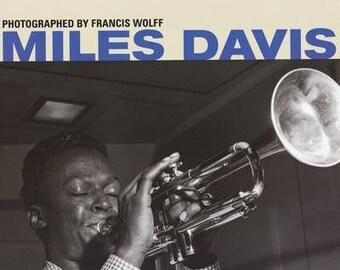 Miles Davis Francis Wolff  Rare Poster