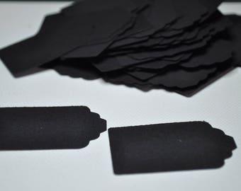 x 100 black labels
