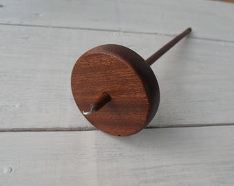 Drop Spindle Mahogany Redwood (Top / Bottom whorl)